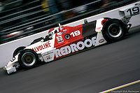 Bobby Rahal drives a March 82C Cosworth in the 1982 Indianapolis 500.