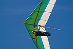 Hang glider at Table Bluff, Humboldt County, California