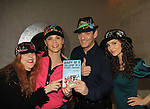 "To be honored Alicia and Gina on October 8, 2013 at Fall Benefit - AMC Alicia Minshew, OLTL Gina Tognoni (GL), Guiding Light Sean McDermott ""Hart Jessup"" showing off Jane Elissa's new book ""Diary of a Lollipop in a Peanut Facory"" taken at Jane's apartment in New York City, New York. (Photo by Sue Coflin/Max Photos)"