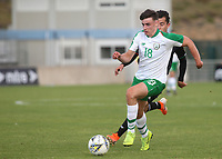 Simon Power of Norwich City and Republic of Ireland races upfield during Republic Of Ireland Under-21 vs Mexico Under-21, Tournoi Maurice Revello Football at Stade Parsemain on 6th June 2019
