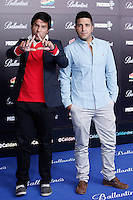 Cali and Dandee attends 40 Principales awards photocall  2012 at Palacio de los Deportes in Madrid, Spain. January 24, 2013. (ALTERPHOTOS/Caro Marin) /NortePhoto