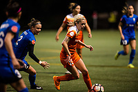 Seattle, Washington -  Saturday April 22, 2017: Denise O'Sullivan during a regular season National Women's Soccer League (NWSL) match between the Seattle Reign FC and the Houston Dash at Memorial Stadium.
