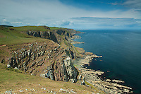 The Scottish Borders Coast from near St Abbs Head Nature Reserve, Scottish Borders