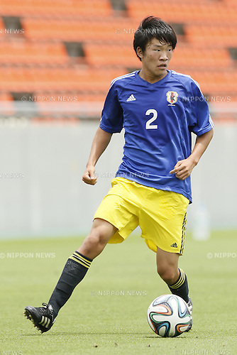 Rikuto Hirose,<br /> JULY 1, 2014 - Football / Soccer : <br /> Training match between U-19 Japan 1-2 Omiya Ardija<br /> at NACK5 Stadium Omiya, Saitama, Japan. <br /> (Photo by SHINGO ITO/AFLO SPORT)