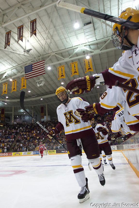 8 Oct 10:  Seth Helgeson (Minnesota - 4) The University of Minnesota plays host to Sacred Heart in a non-conference matchup at Mariucci Arena in Minneapolis, MN.