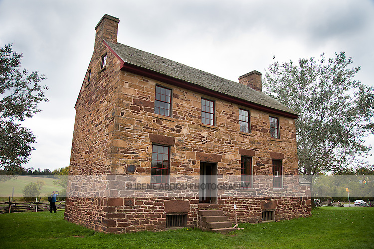 First a tavern, then a field hospital, the Stone House still stands today at Manassas National Battlefield Park in Virginia.
