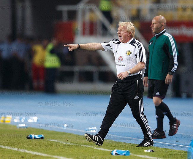 Gordon Strachan showing some passion