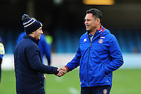 Bath Rugby Head Coach Tabai Matson. Aviva Premiership match, between Bath Rugby and Saracens on December 3, 2016 at the Recreation Ground in Bath, England. Photo by: Patrick Khachfe / Onside Images