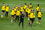 Borussia Dortmund during training session day before UEFA Champions League match between Real Madrid and Borussia Dortmund at Santiago Bernabeu Stadium in Madrid, Spain. December 05, 2017. (ALTERPHOTOS/Borja B.Hojas)