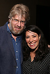 Dave Malloy and Rachel Chavkin attends the Dramatists Guild Fund's Intimate Salon with Dave Malloy at Stella Tower on June 7, 2017 in New York City.