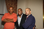Max Tapper, Sean Ringgold, Terrell Tilford at The One Life To Live Lucheon at the Hemsley Hotel in New York City, New York on October 9, 2010. (Photo by Sue Coflin/Max Photos)