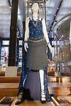 Barbara Fort dress shown at the Catherine Martin and Muccia Prada Dress Gatsby display at Prada store in SOHO, NYC May 4, 2013.