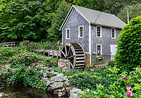 Stony Brook Grist Mill and historic factory village.