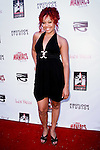 LARAYIA GASTON. Red Carpet arrivals to the Los Angeles Premiere and After-Party of 2001 Maniacs: Field of Screams, at The American Cinemattheque at the Egyptian Theatre. Los Angeles, CA, USA. July 15, 2010.