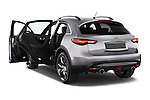 Car images of a 2015 Infiniti QX70 S 5 Door Suv Doors