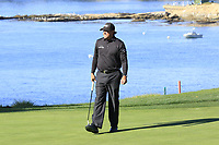 Phil Mickelson (USA) at the 5th green during Sunday's Final Round of the 2018 AT&amp;T Pebble Beach Pro-Am, held on Pebble Beach Golf Course, Monterey,  California, USA. 11th February 2018.<br /> Picture: Eoin Clarke | Golffile<br /> <br /> <br /> All photos usage must carry mandatory copyright credit (&copy; Golffile | Eoin Clarke)