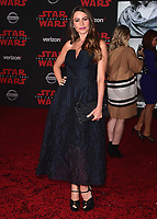"LOS ANGELES- DECEMBER 9:  Sofia Vergara at the World Premiere of Disney Pictures and Lucasfilm's ""Star Wars: The Last Jedi"" at the Shrine Auditorium on December 9, 2017 in Los Angeles, California. (Photo by Scott Kirkland/PictureGroup)"