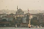 Istanbul, Turkey, Kiz Kulesi, Architecture, Asian shore, Uskudar, waterfront, Bosphorus Strait,