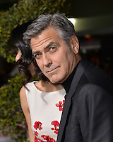 Actor George Clooney at the world premiere of his movie &quot;Hail Caesar!&quot; at the Regency Village Theatre, Westwood.<br /> February 1, 2016  Los Angeles, CA<br /> Picture: Paul Smith / Featureflash