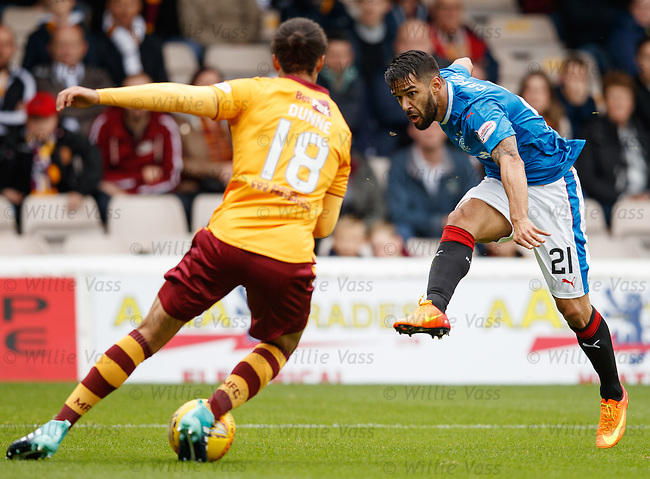 Daniel Candeias has a shot blocked by Charles Dunne
