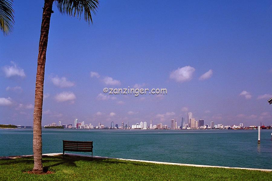 Miami FL, Skyline, Cityscape, Panorama