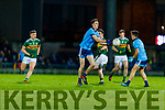 Kerry in action against  Darren Gavin Dublin during the Allianz Football League Division 1 Round 3 match between Kerry and Dublin at Austin Stack Park in Tralee, Kerry on Saturday night.
