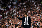 Julen Lopetegui Head Coach of Real Madrid gestures during their La Liga  2018-19 match between Real Madrid CF and Atletico de Madrid at Santiago Bernabeu on September 29 2018 in Madrid, Spain. Photo by Diego Souto / Power Sport Images