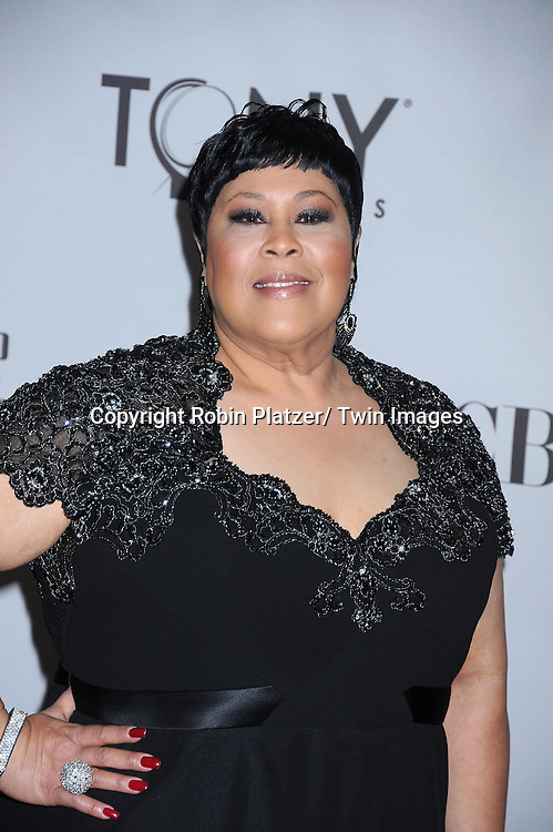 Martha Wash attending the 65th Annual Tony Awards at The Beacon Theatre in New York City on June 12, 2011.