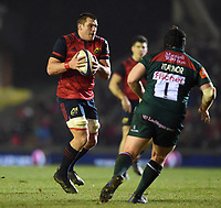 CJ Stander of Munster Rugby in possession. European Rugby Champions Cup match, between Leicester Tigers and Munster Rugby on December 17, 2017 at Welford Road in Leicester, England. Photo by: Patrick Khachfe / JMP