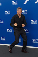 "George Clooney at the ""Suburbicon"" photocall, 74th Venice Film Festival in Italy on 2 September 2017.<br /> <br /> Photo: Kristina Afanasyeva/Featureflash/SilverHub<br /> 0208 004 5359<br /> sales@silverhubmedia.com"
