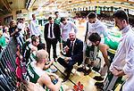 S&ouml;dert&auml;lje 2014-04-22 Basket SM-Semifinal 7 S&ouml;dert&auml;lje Kings - Uppsala Basket :  <br /> tr&auml;nare headcoach coach Vedran Bosnic under en timeout<br /> (Foto: Kenta J&ouml;nsson) Nyckelord:  S&ouml;dert&auml;lje Kings SBBK Uppsala Basket SM Semifinal Semi T&auml;ljehallen