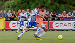 2018-06-23 / Voetbal / seizoen 2018 -2019 / KSK Heist - RSC Anderlecht / Thomas Regnier (l.KSK Heist) met Hannes Delcroix  ,Foto: Mpics.be