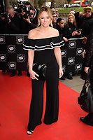 Kimberley Walsh arriving for TRIC Awards 2018 at the Grosvenor House Hotel, London, UK. <br /> 13 March  2018<br /> Picture: Steve Vas/Featureflash/SilverHub 0208 004 5359 sales@silverhubmedia.com