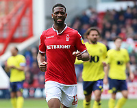 Nottingham Forest's Molla Wague in action<br /> <br /> Photographer David Shipman/CameraSport<br /> <br /> The EFL Sky Bet Championship - Nottingham Forest v Blackburn Rovers - Saturday 13th April 2019 - The City Ground - Nottingham<br /> <br /> World Copyright © 2019 CameraSport. All rights reserved. 43 Linden Ave. Countesthorpe. Leicester. England. LE8 5PG - Tel: +44 (0) 116 277 4147 - admin@camerasport.com - www.camerasport.com