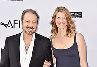 HOLLYWOOD, CA - JUNE 07: Ed Zwick (L) and Laura Dern arrive at the American Film Institute's 46th Life Achievement Award Gala Tribute To George Clooney at the Dolby Theatre on June 7, 2018 in Hollywood, California.<br /> CAP/ROT/TM<br /> &copy;TM/ROT/Capital Pictures