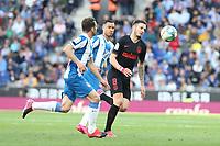 1st March 2020; RCDE Stadium, Barcelona, Catalonia, Spain; La Liga Football, Real Club Deportiu Espanyol de Barcelona versus Futbol Club Atletico Madrid; Saul of Atletico breaks the defensive line of Espanyol