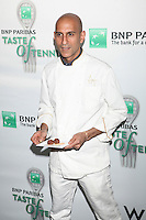 Chef Jehangir Mehta of Graffiti attends the 13th Annual 'BNP Paribas Taste of Tennis' at the W New York.  New York City, August 23, 2012. © Diego Corredor/MediaPunch Inc. /NortePhoto.com<br />