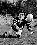 Liam McGuire Killarney Rugby  Killarney Sports Star 1985.<br /> Photo Don MacMonagle.<br /> macmonagle.com archive