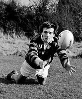 Liam McGuire Killarney Rugby  Killarney Sports Star 1985.<br /> Photo Don MacMonagle.<br /> macmonagle.com archive