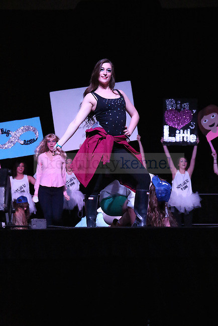 Kappa Kappa Gamma kills their routine with Total Sorority Move in Lexington, Ky., on (date). Photo by Lydia Emeric | Staff