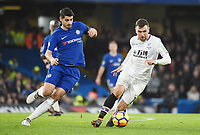 Alvaro Morata of Chelsea and James McArthur of Palace <br /> Londra 10-03-2018 Premier League <br /> Chelsea - Crystal Palace<br /> Foto PHC Images / Panoramic / Insidefoto <br /> ITALY ONLY