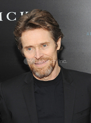 New York, NY- October 13:  Willem Dafoe attends the Summit Entertainment and Thunder Road Pictures New York screening of John Wick at the Regal Union Square on October 13, 2014 in New York City. Credit: John Palmer/MediaPunch