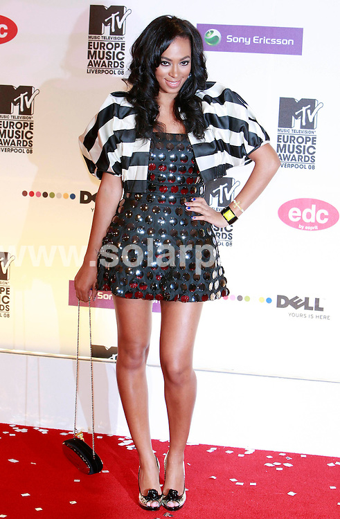 **ALL ROUND PICTURES FROM SOLARPIX.COM**.**SYNDICATION RIGHTS FOR UK AND SPAIN ONLY**.pictured at the MTV Europe Music Awards 2008 in Liverpool, UK. 6th November 2008..This pic: Solange Knowles..JOB REF: 7814 CPR (Heinz)       DATE: 06_11_2008.**MUST CREDIT SOLARPIX.COM OR DOUBLE FEE WILL BE CHARGED* *UNDER NO CIRCUMSTANCES IS THIS IMAGE TO BE REPRODUCED FOR ANY ONLINE EDITION WITHOUT PRIOR PERMISSION*