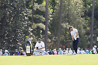 Alex Noren (SWE) on the 14th during the 1st round at the The Masters , Augusta National, Augusta, Georgia, USA. 11/04/2019.<br /> Picture Fran Caffrey / Golffile.ie<br /> <br /> All photo usage must carry mandatory copyright credit (&copy; Golffile | Fran Caffrey)