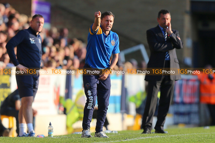 Shrewsbury Town manager Paul Hurst during Southend United vs Shrewsbury Town, Sky Bet EFL League 1 Football at Roots Hall on 29th October 2016