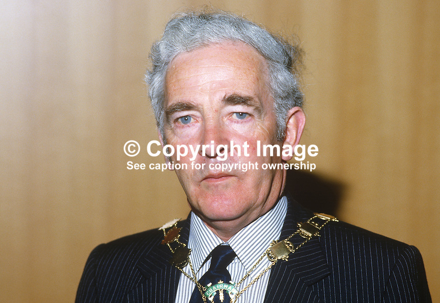 Jim McCart, SDLP chairman, Newry & Mourne District Council, N Ireland,19840072JMC..Copyright Image from Victor Patterson, 54 Dorchester Park, Belfast, UK, BT9 6RJ..Tel: +44 28 9066 1296.Mob: +44 7802 353836.Voicemail +44 20 8816 7153.Skype: victorpattersonbelfast.Email: victorpatterson@me.com.Email: victorpatterson@ireland.com (back-up)..IMPORTANT: If you wish to use this image or any other of my images please go to www.victorpatterson.com and click on the Terms & Conditions. Then contact me by email or phone with the reference number(s) of the image(s) concerned.