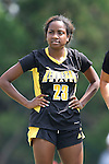 01 September 2013: Kennesaw State's Ivani Hughes. The University of North Carolina Tar Heels hosted the Kennesaw State University Owls at Fetzer Field in Chapel Hill, NC in a 2013 NCAA Division I Women's Soccer match. UNC won the game 3-0.