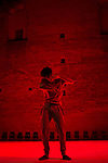NOS, TUPI OR NOT TUPI ?<br /> <br /> Conception, chor&eacute;graphie Fabrice Ramalingom<br /> Fabrication, interpr&eacute;tation Renann Fontoura, Eduardo Hermanson, Tito Lacerda<br /> Assistant &agrave; la chor&eacute;graphie, dramaturgie Matthieu Doze<br /> Lumi&egrave;res Maryse Gautier<br /> Musique Fran&ccedil;ois Richomme<br /> Sc&eacute;nographie, costumes Thierry Grapotte<br /> Image Jeanne Dosse<br /> Montage, images additionnelles David Olivari<br /> Compagnie : R.A.M.a<br /> Date : 15/06/2018<br /> Lieu : Jardin de l&rsquo;&eacute;v&ecirc;ch&eacute;<br /> Ville : Uz&egrave;s
