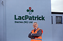 Gabriel D'Arcy, chief exec of Lacpatrick<br /> at infant milk place in Artigarvan, Strabane, Northern Ireland. Photo/Paul McErlane