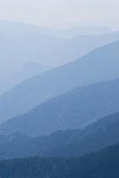 Hazy mountains in parc national du Mercantour, Alpes Maritimes, France